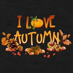 i_love_autumn_11_201601 Mugs & Drinkware - Men's T-Shirt