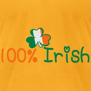 ♥ټ☘I'm 100% Irish-Irish Power Tote Bag☘ټ - Men's T-Shirt by American Apparel