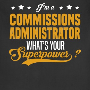 Commissions Administrator - Adjustable Apron