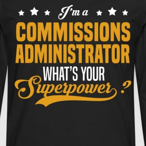Commissions Administrator - Men's Premium Long Sleeve T-Shirt
