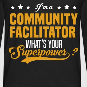 Community Facilitator - Men's Premium Long Sleeve T-Shirt