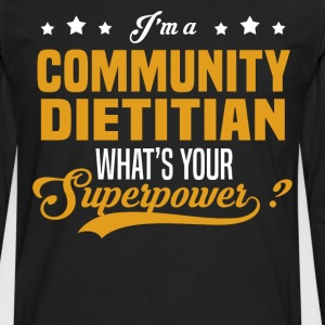 Community Dietitian - Men's Premium Long Sleeve T-Shirt