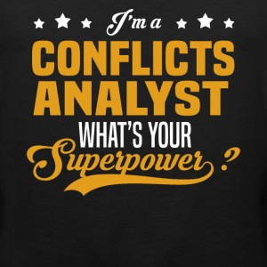 Conflicts Analyst - Men's Premium Tank