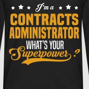 Contracts Administrator - Men's Premium Long Sleeve T-Shirt