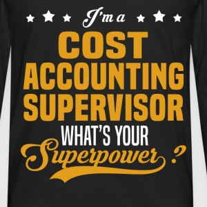 Cost Accounting Supervisor - Men's Premium Long Sleeve T-Shirt