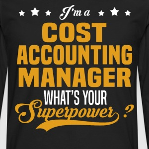 Cost Accounting Manager - Men's Premium Long Sleeve T-Shirt