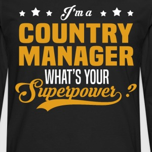 Country Manager - Men's Premium Long Sleeve T-Shirt
