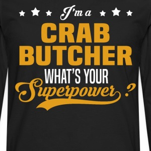 Crab Butcher - Men's Premium Long Sleeve T-Shirt