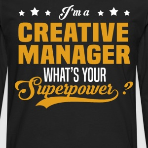 Creative Manager - Men's Premium Long Sleeve T-Shirt