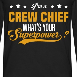 Crew Chief - Men's Premium Long Sleeve T-Shirt