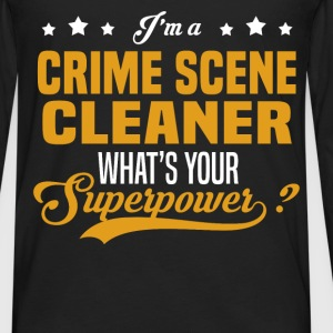 Crime Scene Cleaner - Men's Premium Long Sleeve T-Shirt