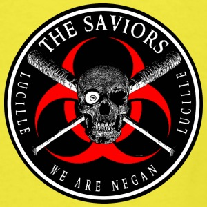 Biohazard The Saviors We Are Negan Ring Patch Baby Bodysuits - Men's T-Shirt