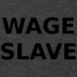 Wage Slave - Men's V-Neck T-Shirt by Canvas