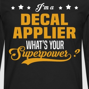 Decal Applier - Men's Premium Long Sleeve T-Shirt