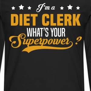 Diet Clerk - Men's Premium Long Sleeve T-Shirt