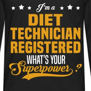 Diet Technician Registered - Men's Premium Long Sleeve T-Shirt