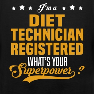 Diet Technician Registered - Men's Premium Tank