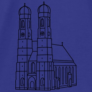 Munich Frauenkirche Aprons - Men's Premium T-Shirt