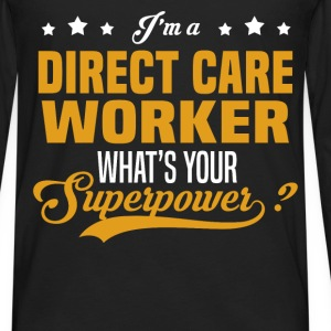 Direct Care Worker - Men's Premium Long Sleeve T-Shirt