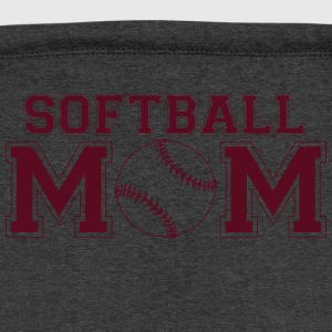 Softball Mom shirt - Sweatshirt Cinch Bag