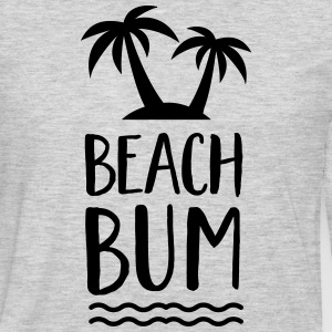 Beach Bum | Palm Trees | Water T-Shirts - Men's Premium Long Sleeve T-Shirt