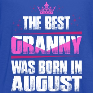 The Best Granny Was Born In August T-Shirts - Women's Flowy Tank Top by Bella