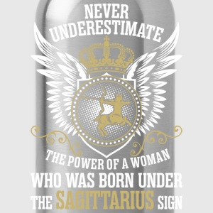 Never Underestimate The Power Of A Woman Who Was B T-Shirts - Water Bottle