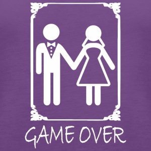 Game Over Gamer - Women's Premium Tank Top