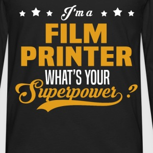 Film Printer - Men's Premium Long Sleeve T-Shirt