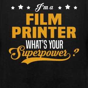Film Printer - Men's Premium Tank
