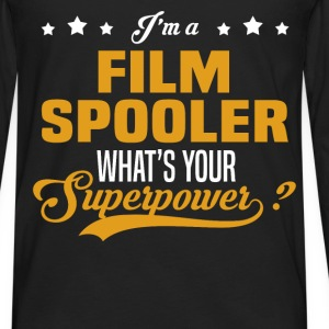Film Spooler - Men's Premium Long Sleeve T-Shirt