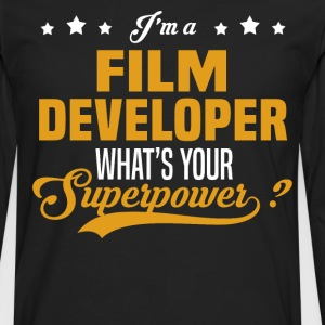 Film Developer - Men's Premium Long Sleeve T-Shirt