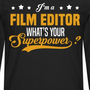 Film Editor - Men's Premium Long Sleeve T-Shirt