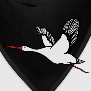 Stork flying wing T-Shirts - Bandana