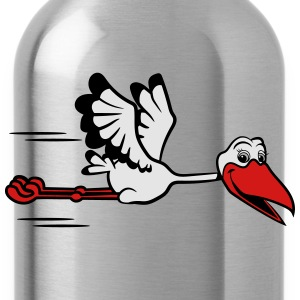 Stork fly T-Shirts - Water Bottle
