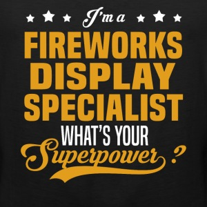 Fireworks Display Specialist - Men's Premium Tank