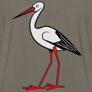 Stork stupid T-Shirts - Men's Premium Long Sleeve T-Shirt