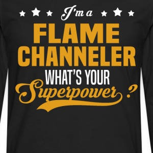 Flame Channeler - Men's Premium Long Sleeve T-Shirt