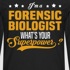 Forensic Biologist - Men's Premium Long Sleeve T-Shirt