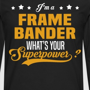 Frame Bander - Men's Premium Long Sleeve T-Shirt