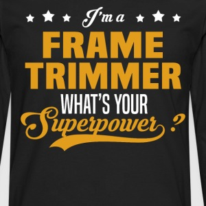 Frame Trimmer - Men's Premium Long Sleeve T-Shirt