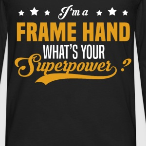 Frame Hand - Men's Premium Long Sleeve T-Shirt
