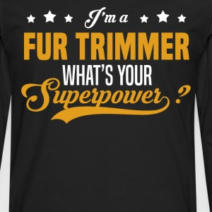 Fur Trimmer - Men's Premium Long Sleeve T-Shirt