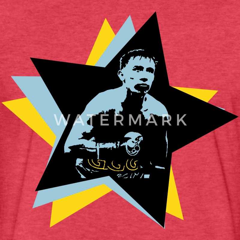 Gennady Golovkin SuperStar (GGG) T-Shirts - Fitted Cotton/Poly T-Shirt by Next Level