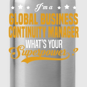 Global Business Continuity Manager - Water Bottle