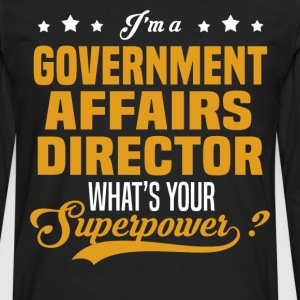 Government Affairs Director - Men's Premium Long Sleeve T-Shirt