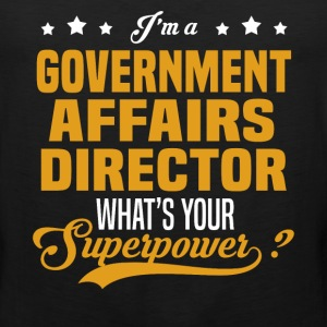Government Affairs Director - Men's Premium Tank