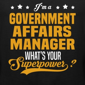 Government Affairs Manager - Men's Premium Tank