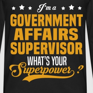 Government Affairs Supervisor - Men's Premium Long Sleeve T-Shirt