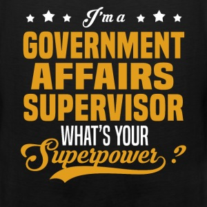 Government Affairs Supervisor - Men's Premium Tank